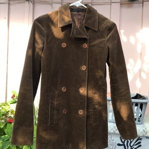 Theory Brown Corduroy  Coat